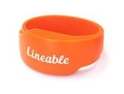 Браслет Lineable оранжевый