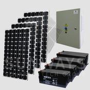Автономные солнечные энергосистемы Санфорс 800 с установленной мощностью до 800 Вт