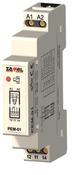 Контактор модульный Zamel, 16А кат.230VAC 1НО+1НЗ на DIN рейку (PEM-01/230)