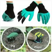 """Перчатки садовые с """"когтями"""" """"Garden Genie Gloves"""""""