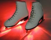 Подсветка для коньков красная IceSkates-Red