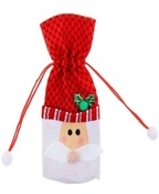 "Прикол одежда на бутылку ""Дед мороз"", с завязками"