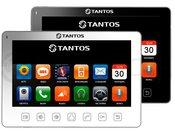 """Tantos Prime Slim Видеодомофон с 7"""" дисплеем (управление кнопками на консоли) сверх тонкий корпус"""