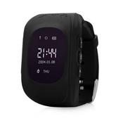 Wonlex Q50 Детские смарт-часы с GPS-трекером черные