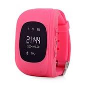 Wonlex Q50 Детские смарт-часы с GPS-трекером розовые