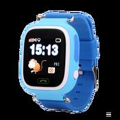 Умные часы с GPS трекером синие Smart Baby Watch Q80 Blue