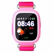 Wonlex Q80 Детские смарт-часы с GPS-трекером розовые