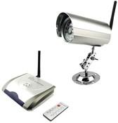 Беспроводной комплект: цветная камера и селектор на 4 канала. R04+C10