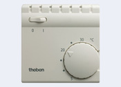 Theben RAMSES 705 терморегулятор электромеханический комнатный, накладной монтаж (7050001)