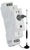 Мультифункциональный радиоуправляемый релейный модуль на DIN рейку RF Control SA-61ME