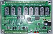 Модуль расширения ADICON, 8 вх., 8 вых. 9-12V AC/DC, B-52S16 DIN