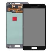 Дисплей, Samsung Galaxy A3 SM-A310F, черный, сервисный оригинал