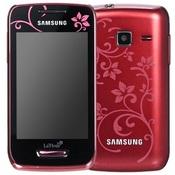 Смартфон Samsung Wave Y S5380 red fleur