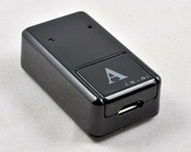 Mини GSM-сигнализатор с функцией активации голосовой речью, gps позиционирования, прослушивания и фотосообщения MMS . Модель: GSM-CX-01 (A) черный