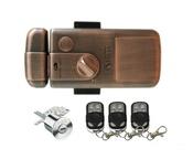 Selock Key Электронный всепогодный автономный накладной замок с механическим ключом и пультом