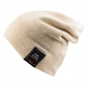 Шапка Hatsonic с беспроводными Bluetooth наушниками. Dress Cote Style 1 (бежевая) (1-8-002)