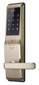 Биометрический электронный замок Samsung SHS-5230 с сигнализацией (золотой) (H705)