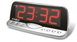 СК 1220-С-К Спектр сетевые электронные часы-будильник
