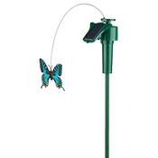 SL-PL42-BTF ЭРА Садовое украшение на солнечной батарее «Порхающая бабочка», пластик, цветной, 42 см