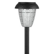 SL-PL42 ЭРА Садовый светильник на солнечной батарее, пластик, черный, 42 см (24)