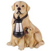 SL-RSN31-DOG ЭРА Садовый светильник на солнечной батарее, полистоун, цветной, 31 см (4/24)
