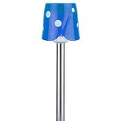 SL-SS36 ЭРА синий Садовый светильник на солнечной батарее, нержавеющая сталь, стальной, цветной, 36 см