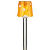 SL-SS36 ЭРА желтый Садовый светильник на солнечной батарее, нержавеющая сталь, стальной, цветной, 36 см