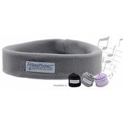 Беспроводные мягкие наушники для сна (Bluetooth) Sleephones wireless Breeze, светло-серые