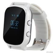 Умные часы Smart GPS Watch T58 (GW700) серебро с GPS трекером