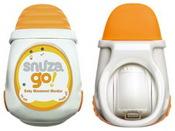 Умный монитор дыхания ребенка Snuza Go.