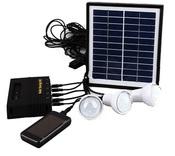 Комплект автономной солнечной системы освещения, 3 светодиодные Led лампы, usb выход для зарадки смартфонов Solar Energy Kit