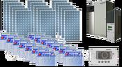 Автономные солнечные энергосистемы Сан энерджи 2.2 с установленной мощностью до 2200 Вт