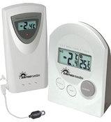 T 254004-W + датчик 350013 Metwomaster Электронный цифровой термометр с выносным радиодатчиком