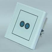 Сенсорный выключатель беспроводной OneTouch (86WSW2) 2 клавишный белый