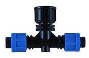 Фитинг TT031712 для садовых шлангов и систем полива капельной лентой