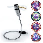 31 Век USB-вентилятор с разноцветной подсветкой UF-211-03
