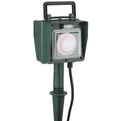 Садовый удлинитель всепогодный UT-2e-10m-IP44 ЭРА с таймером