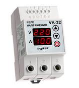DigiTOP VА-32 Реле напряжения с контролем тока VA-protector 32A