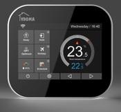 VDOMA VMC6B-WIFI -Black Терморегулятор для управления водяным отоплением черный (3А)