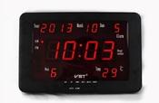 vst-802w-1 (красные) Настенные часы для дома и офиса