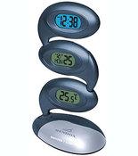 Электронные настольные часы-будильник Wendox W1810 темно-синие