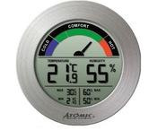 W239232-S Термометр-гигрометр Atomic Silver
