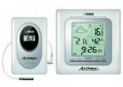 Электронная цифровая домашняя метеостанция Atomic W739009-White