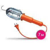 Удлинитель со светильником ЭРА с розеткой, с выключетелем, 7 метра. Модель: WL-1s-7m