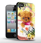 Сменный чехол от BB-Mobile для iPhone 4/4S c 3D изображением (X-019)