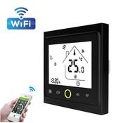 Умный WiFi термостат, 16A, 110-230В, черный Я смарт Ya-T002B