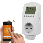 Умный Wi-Fi терморегулятор Ya-HY02, 16A