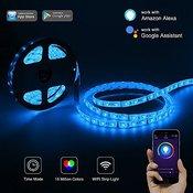 Умная WiFi лента RGB-W, 5 метров, 30W, 220V. Модель: Ясмарт 5RGBW
