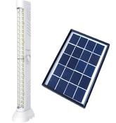 Комплект автономной солнечной системы освещения и светодиодный аварийный светильник 48Led Модель: 7621