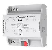 Источник питания KNX ZPS640HIC230, выход 29В= / 640мА, встроенный дроссель, дополнительный выход 29В=, общая нагрузка до 640мА, питание 230В~, на DIN рейку, 4,5TE
